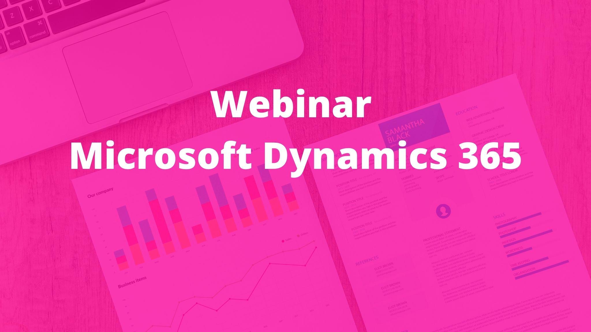 Webinar CRM Microsoft Dynamics 365